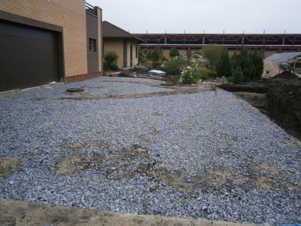 Залить гравий бетоном направляющая рельс форма для бетона купить