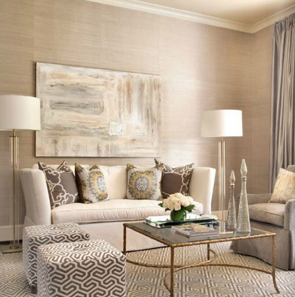 Beige Color In The Interior