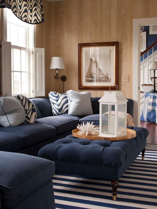 Interior In A Marine Style, Marine Style Furniture
