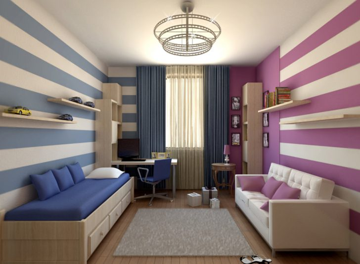 How To Equip A Children S Room For Two Children