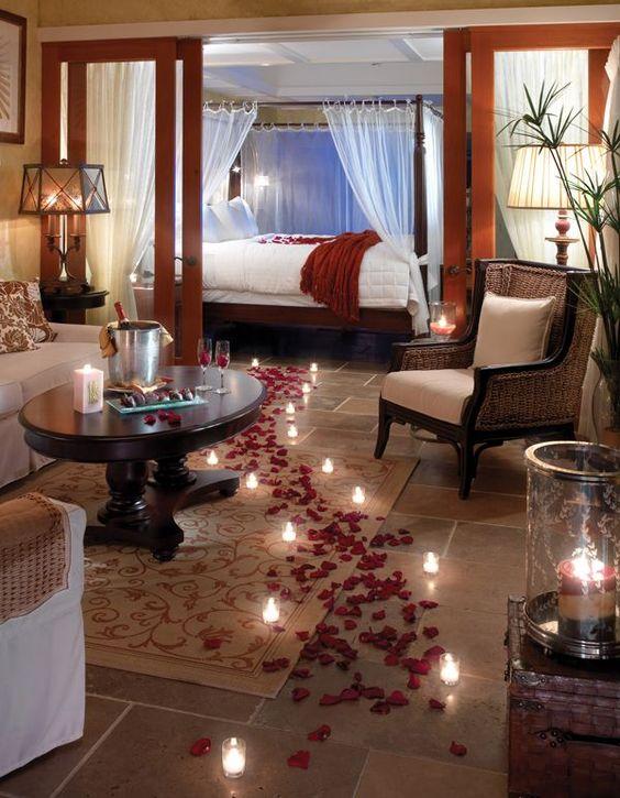 Smarte ressurser Hvordan dekorere et rom for en romantisk kveld: dekor ideer PX-63