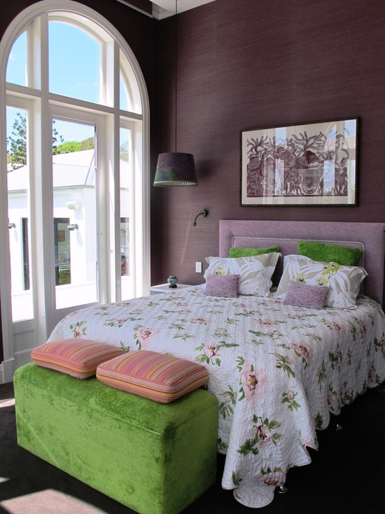Camera da letto lilla - interior design di persone ...