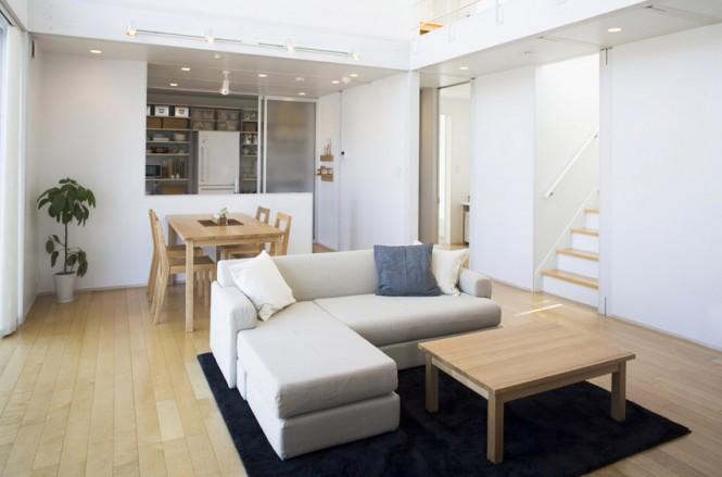 Woonkamer Van Muji : Minimalisme van het interieur in japanse stijl