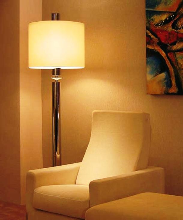 L mparas de pie decoraci n de interiores e iluminaci n - Iluminacion de pie ...
