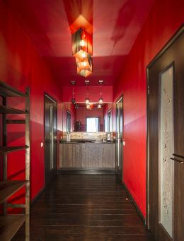flur tapete. Black Bedroom Furniture Sets. Home Design Ideas