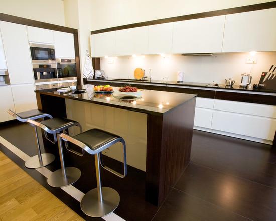 Stile hi-tech nell\'interior design della cucina ...