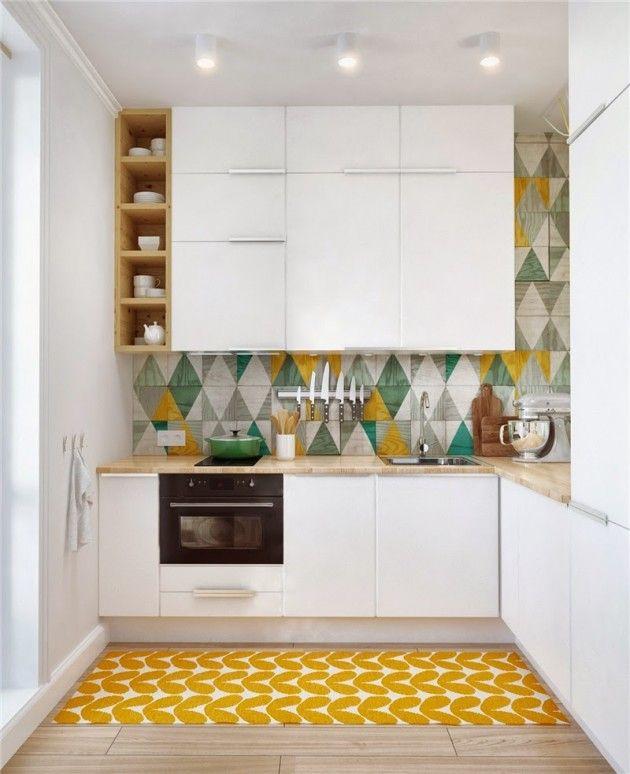 Všechno Tajemství Interiéru Malé Kuchyně